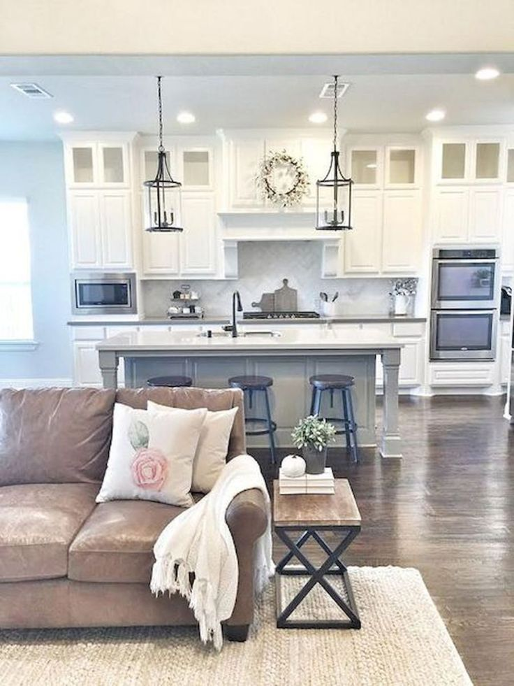 60 amazing farmhouse style living room design ideas (14)