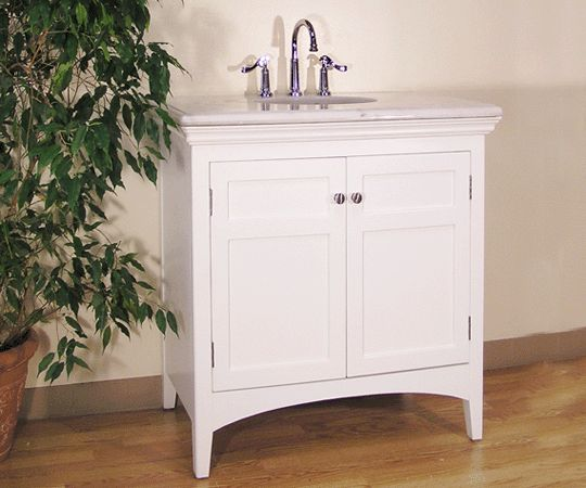 Legion Furniture Sink Free Standing Bathroom Vanity, Open The Doors To  Reveal A Shelf And Ample Storage, Finished With A Polished Edge Around The  Exterior ...