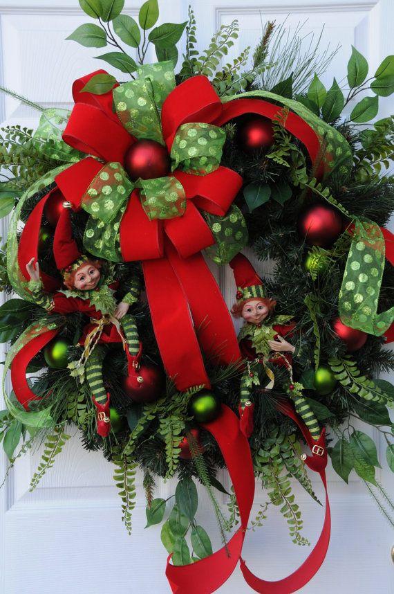 25 best large christmas wreath ideas on pinterest christmas decorations on sale christmas. Black Bedroom Furniture Sets. Home Design Ideas