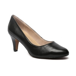 Rita dress in black smooth