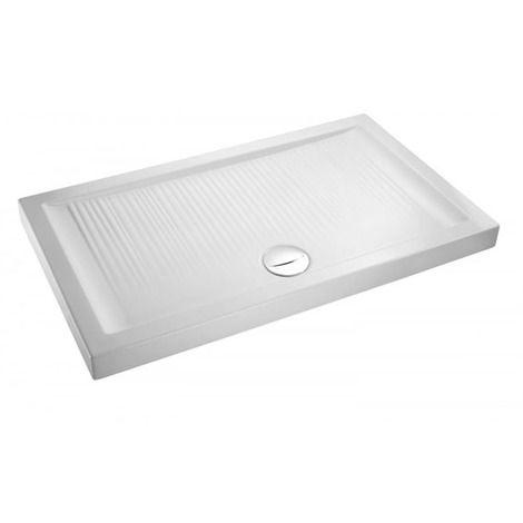 Receveur rectangle bonde à l'avant Kyreo Jacob Delafon - EN111-00 - Plomberie sanitaire chauffage
