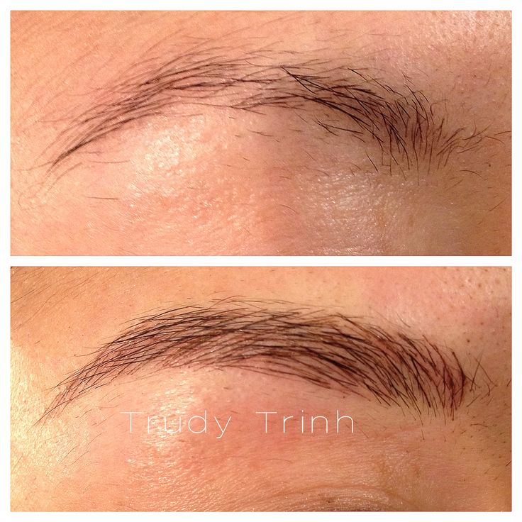 21 best Semi-Permanent Eyebrow Hairstroke Tattoo images on Pinterest
