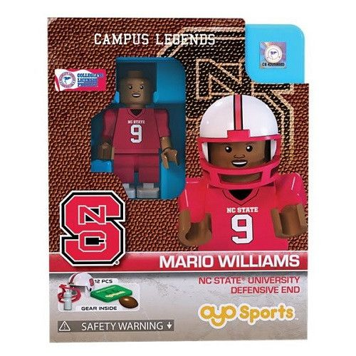 NC State Wolfpack Mario Williams State Oyo
