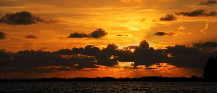 Flórida com Crianças: Pôr do Sol num Cruzeiro no Golfo do México
