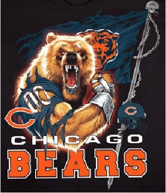 chicago bears - game on!!!