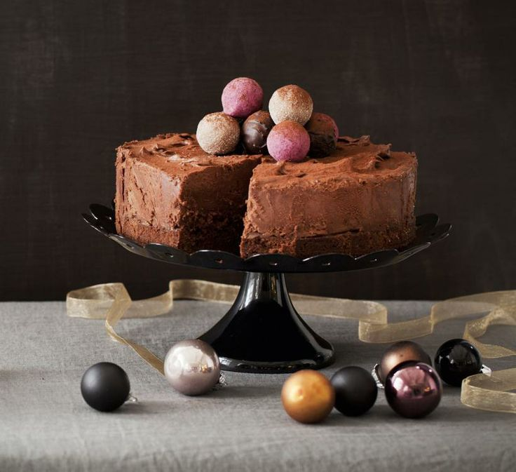 Tryffeli-suklaamoussekakku | Koti ja keittiö