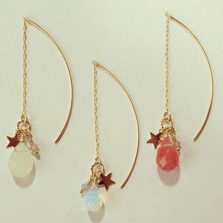 you're a star earrings