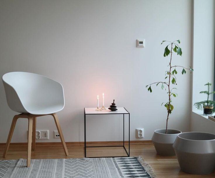 Rimm flowerpots and Twin table. Photo by @ssevjen