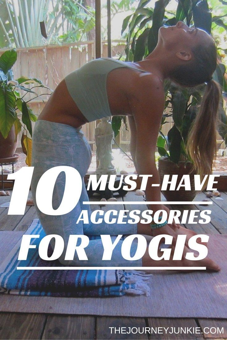 Yoga props and accessories that every yogi should know! Pin now, read later!