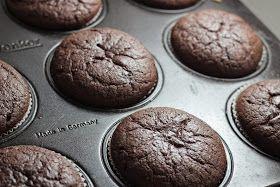 Veselé Borůvky: Čokoládové muffiny z kaštanového pyré