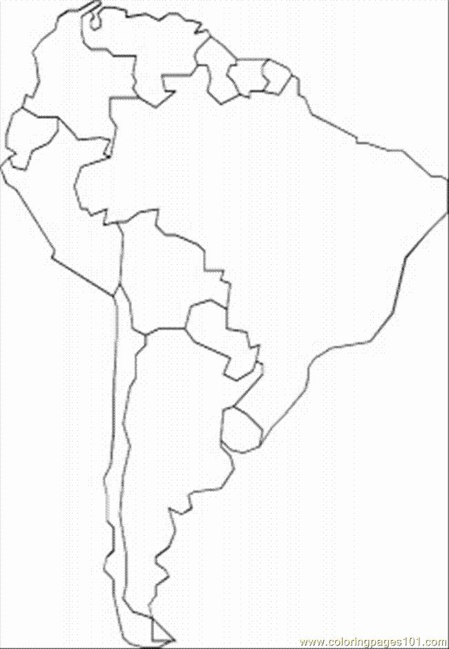 South America Coloring Page Inspirational South America Coloring Page Free Maps Colorin Coloring Pages Coloring Pages Inspirational Minnie Mouse Coloring Pages
