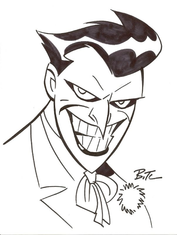 This will always be my favorite Joker character interpretation.