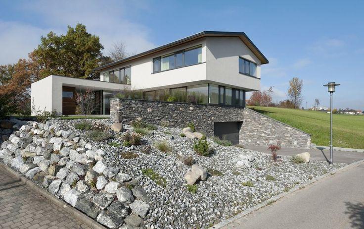 Neubau Einfamilien-Haus am Hang im Oberallgäu