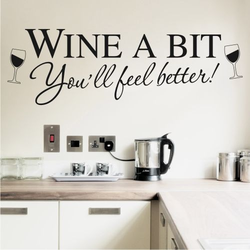 Kitchen Wall Sayings Vinyl Lettering: Best 25+ Kitchen Wall Stickers Ideas On Pinterest