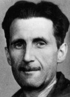 """George Orwell (Eric Blair); 1903-1954; """"Animal Farm,"""" """"1984,"""" """"Down and Out."""""""