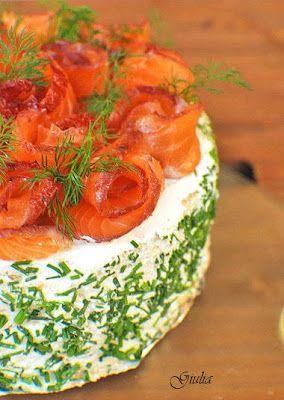 Rossa di sera: Torta gastronomica di pesce finlandese (Lohivoilei...