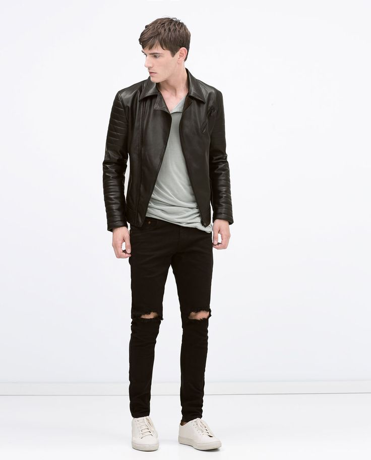 Image 1 of BIKER JACKET from Zara
