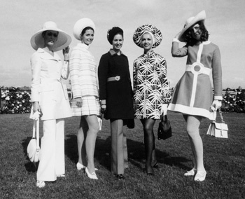 Melbourne Spring Racing - Fashions of the Field 1969
