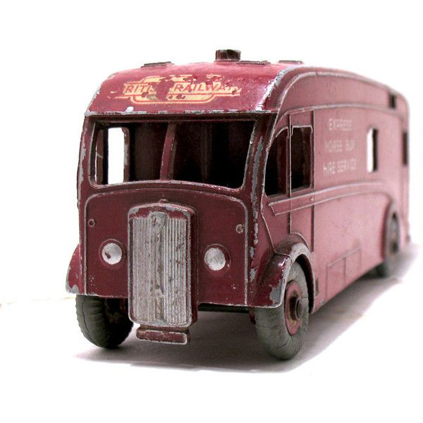 "Vintage Dinky Toy #581 ""British Railways Express Horse Box Hire... ($76) ❤ liked on Polyvore featuring home, home decor, horse home decor, british home decor, vintage home accessories and vintage home decor"