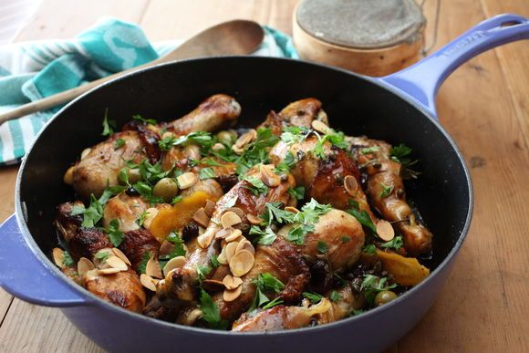 Chicken, Raisins, Capers, Olives, Almonds and Vino Cotto - Maggie Beer