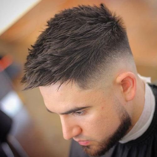 Dapper Haircuts - Low Skin Fade with Quiff