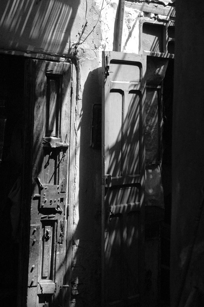 Doors... Marrakech... Photography & Photoshop by Peter Carman 2006