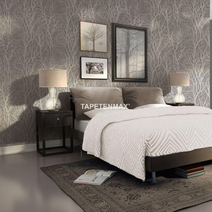 248 besten 138 Bilder auf Pinterest Tapeten, Wohnen und Motive - graue tapete wohnzimmer