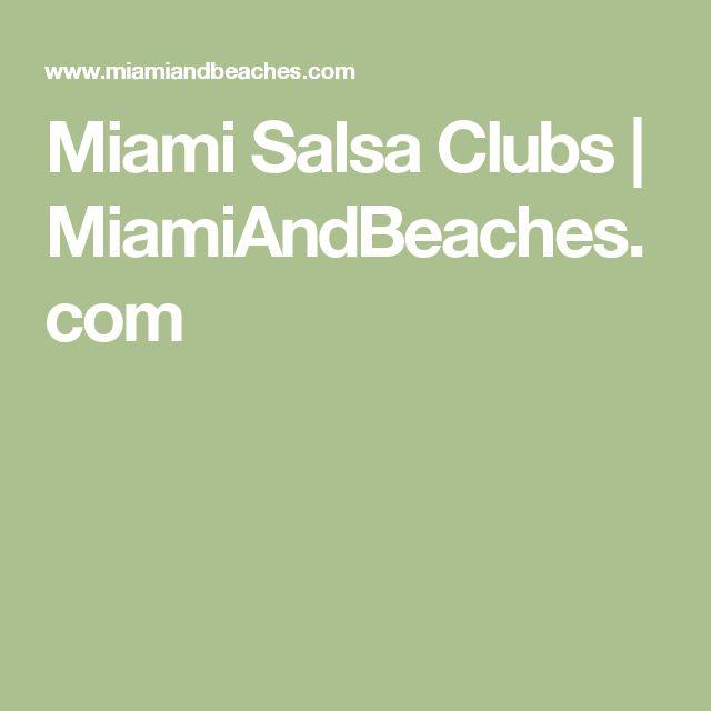 Miami Salsa Clubs | MiamiAndBeaches.com