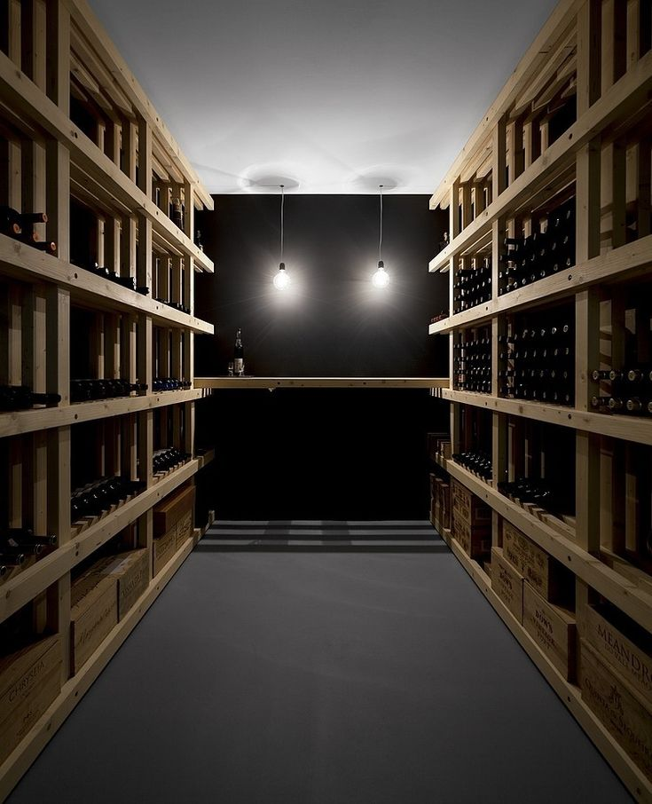 Wine Cellar In Quinta Dos Alcoutins House By GGLLatelier In Lisbon, Portugal