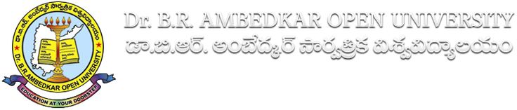 r. B.R.AMBEDKAR OPEN UNIVERSITY UG/PG/DIPLOMA ADMISSION NOTIFICATION 2013-14
