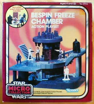 Star Wars Empire Strikes Back Micro Collection Bespin Freeze Chamber Action Playset by Kenner