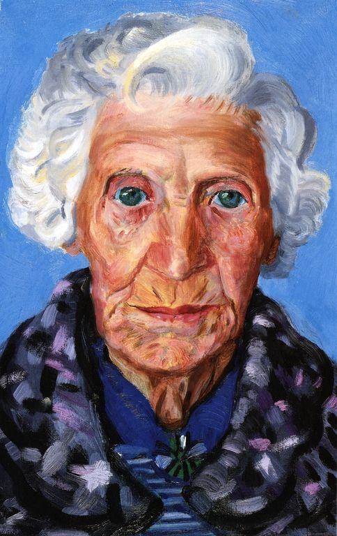 "David Hockney: ""Mum"""