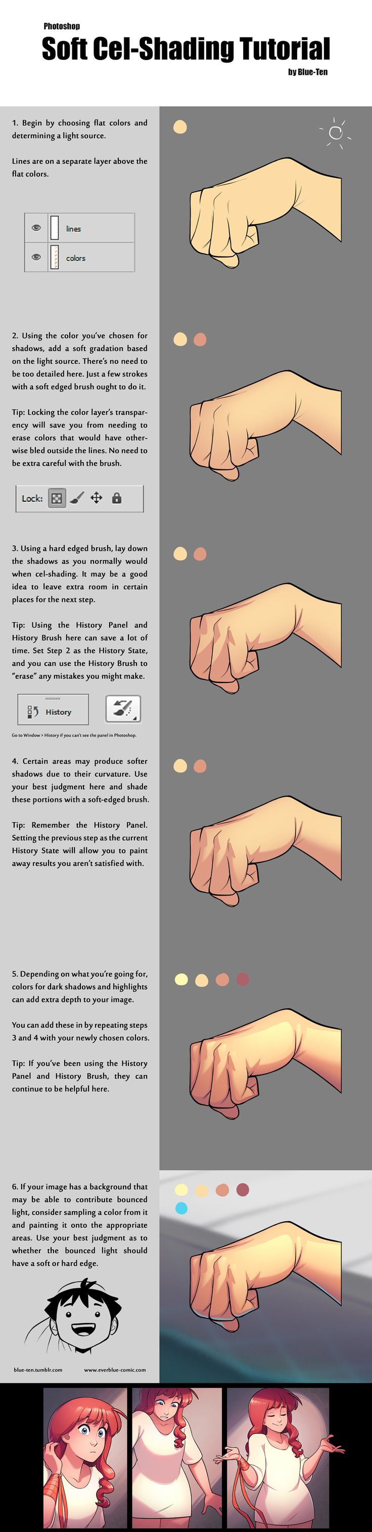 Soft cel-shading tutorial