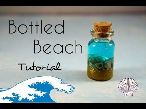 Make your own #DIY #bottledbeach charms VIDEO TUTORIAL ON OUR WEBSITE. LINK IN BIO. Tx @emssysboutique #HomeDecor #BeachDecor #HowTo