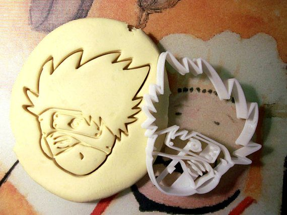 Naruto Kakashi Hatake Cookie Cutter Made from by StarCookies