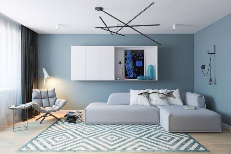 moderne Wohnzimmer von Алена Булатая