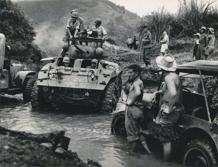 56 best indo china images on pinterest military history french french troops moving alongside a river at hoa binh french indochina most of the publicscrutiny Choice Image