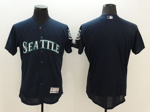 bd332279b purchase 24 ken griffey mariners stitched grey cool base baseball jersey  mariners blank navy blue flexbase
