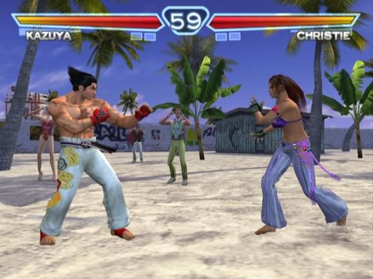 Tekken 4 Game Screenshots