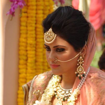 Jasmeet Kapany Hair and Makeup Info & Review   MakeUp Artist in Delhi NCR   Wedmegood