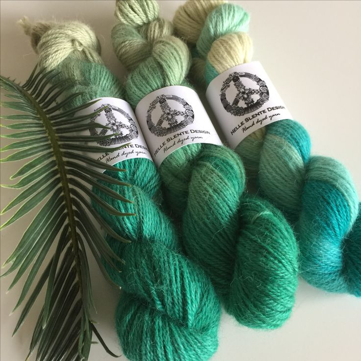 Beautiful hanks of hand dyed alpaca | hand dyed yarn