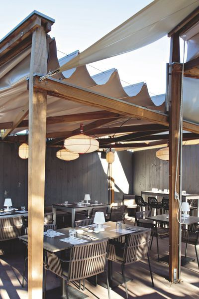Best 25 spas ideas on pinterest spa images treatment rooms and spa rooms - Restaurant au cap ferret ...