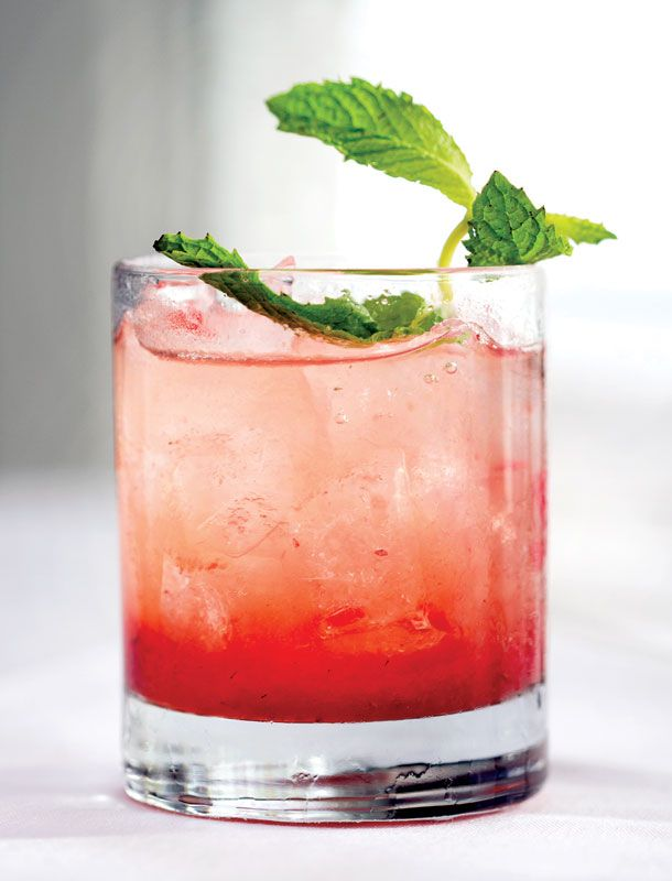 Belmont Jewel - official cocktail of New York's Belmont Stakes race.