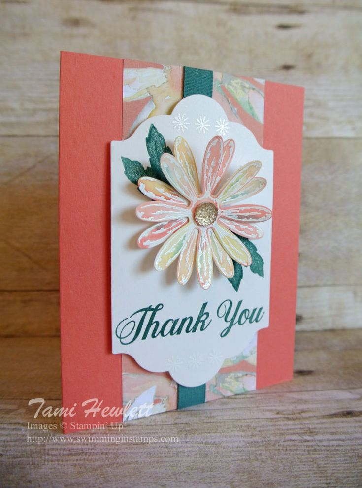 Daisy Delight | Swimming In Stamps