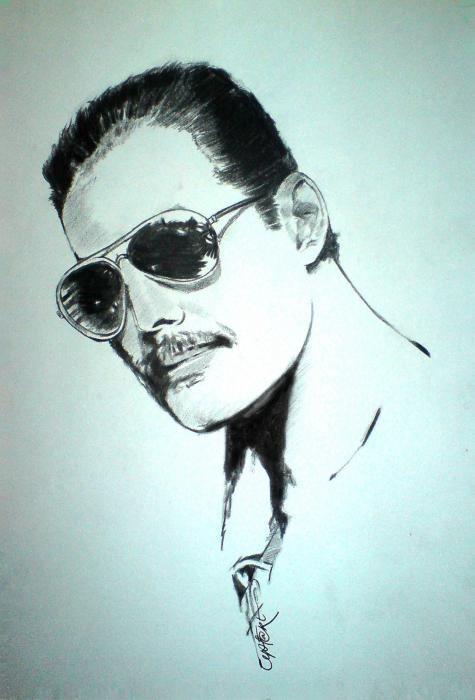 Freddie Mercury by Cipta Stevano Gunawan {from Indonesia}