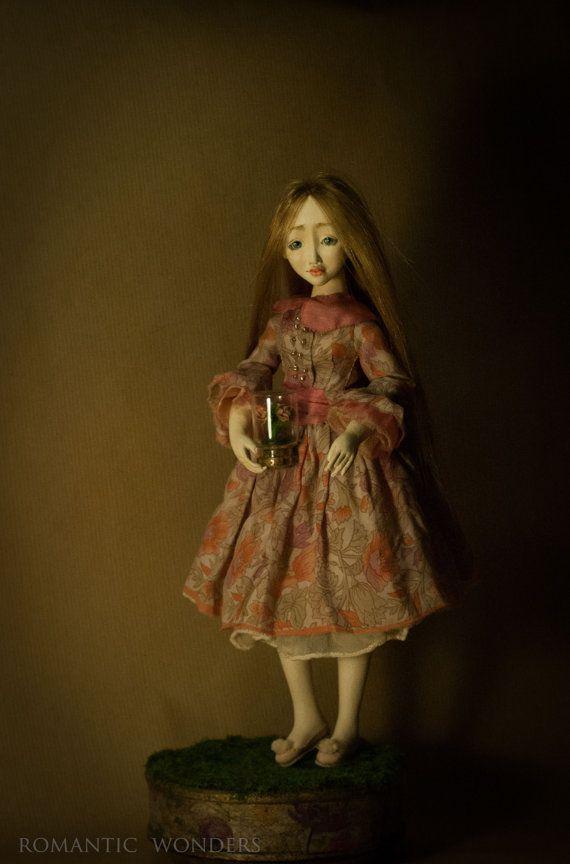 Spring Gardener. Rose. Handmade BJD OOAK doll. by Romantic Wonders