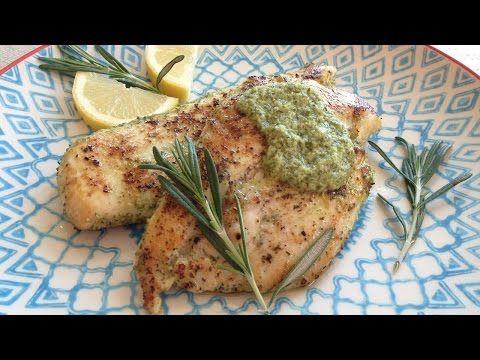 Muy Locos Por La Cocina: Pechuga de Pollo a la Plancha Adobada con Limón y Romero Fresco