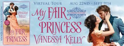The Many Faces of Romance: MY FAIR PRINCESS By Vanessa Kelly: Read an Excerpt...