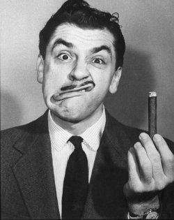 Ernie Kovacs - comedic genius and trailblazer; died at 42 in MVA