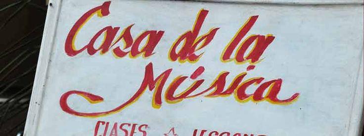 Links with maps: Casa de la Musica in Trinidad, Cuba by Merche Pérez